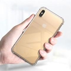 아이폰6 강화유리 필름 불사 커버 젤리 케이스 P537_(3403824)