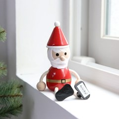 크리스마스 장식 소품 나무인형 3종 - 막스(MARKS)