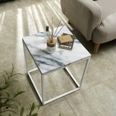 EASY 마블 사이드 테이블 침대 소파 대리석 간이 보조
