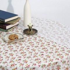 빈티지 플라워 식탁보 테이블보 매트