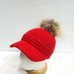 방울캡 기본 라쿤 데일리 패션 챙넓은 니트 볼캡 모자