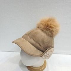 양털 스웨이드 무스탕 뽀글이 방울캡 귀마개 볼캡 모자
