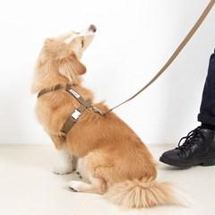 [포에브리바리] 하네스 세트 (카키브라운) - harness set (khaki BR)