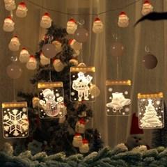 인블룸 크리스마스 3D조명 LED 모빌형 6종 택1_(3035022)