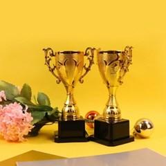 골드 미니트로피 문구 상장 제작 만들기 황금 우승컵 트로피