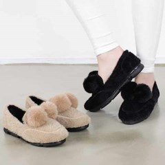 kami et muse Drop fur comfort loafers_KM20w192