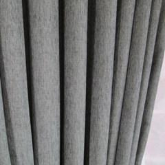[나산] 세미벨벳 사계절 방한커튼 100x240cm 그레이