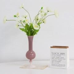 양귀비 생화같은 조화 꽃장식 (5color)