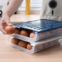 투명 냉장고 자동계란지급기 박스형 3줄 2개