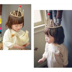 Gold Berry Crown Band 골드베리크라운머리띠