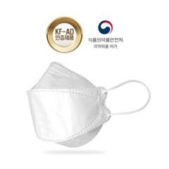 국내생산 올웨이즈원 KF-AD 일회용 비말차단 마스크 10매 50매세트