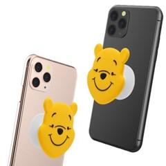 디즈니 곰돌이 푸 실리콘 스마트톡  폰 그립 휴대폰 스마트톡