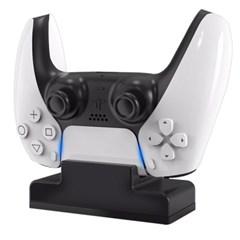 겜맥 PS5 패드차저 솔로 컨트롤러 고속 충전기