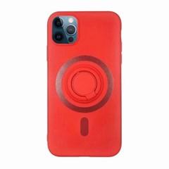 아이폰12프로 컬러 심플 스마트톡 실리콘 케이스 P241_(3413140)