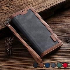 아이폰6S 레더 벨벳 스탠딩 커버 가죽 케이스 P282_(3413162)