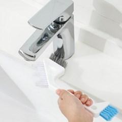 만능 타일 틈새 청소솔 욕실 주방 문틈 브러쉬 2type