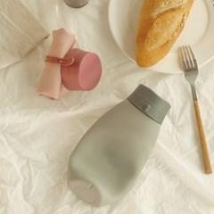 간편휴대 접는 실리콘 물통 접이식 워터보틀