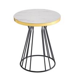 타워 골드엣지 원형 카페테이블