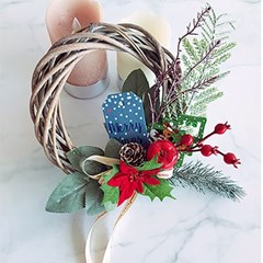 크리스마스 열매 리스