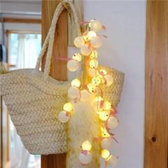 Glitter Snowman String Lamp 반짝이눈사람줄램프