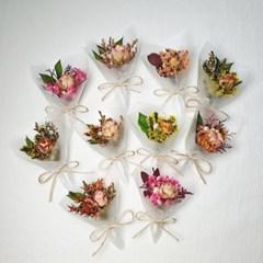 미니꽃다발 선물포장장식 꽃장식