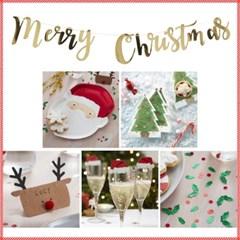[빛나파티]산타 크리스마스 파티 6종 패키지 Santa party Package