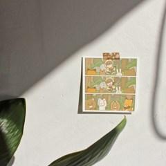 팔베개 만화엽서 4종 ver.2