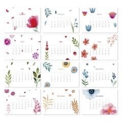 [2021 CALENDAR] Flower