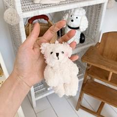 Blush Bear Keychain 볼터치곰돌이키링