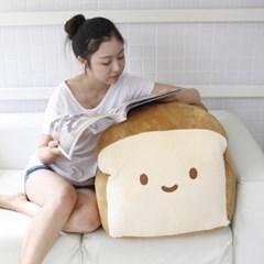 코튼푸드 식빵 쿠션 70cm 대쿠션 휴닝빵야
