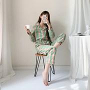 우정잠옷 투톤체크 패밀리파자마 편한잠옷