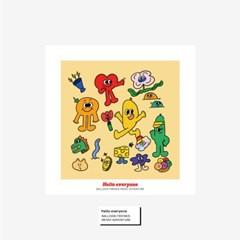 벌룬프렌즈 정사각 포스터 - 헬로에브리원