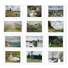 [2021 명화 캘린더] Claude Monet 클로드 모네 Type A