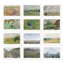 [2021 명화 캘린더] Camille Pissarro 까미유 피사로 Type A