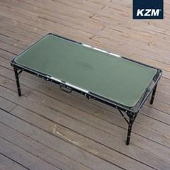 카즈미 윈썸 롤 매트 L K21T3Z03 / 캠핑 테이블 매트 테이블보