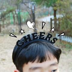 파티 레터링 머리띠