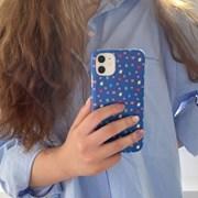 [뮤즈무드] blue jelly bear 아이폰케이스