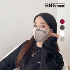 [단품] 비엔티스튜디오 연예인 3D빅로고 패션 발열마스크 4color