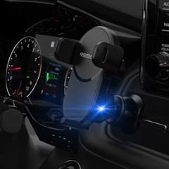 감성공장 15W 고속 무선충전 차량용 핸드폰 거치대 HD-HG-A02