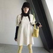 [11월9일 순차배송] Joy Bag_ Fleece Yellow