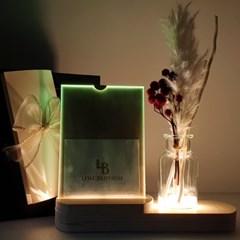 체리 무드등 천연 디퓨저+액자 선물 박스 세트