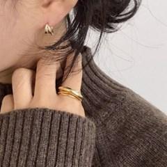 미니투웰 심플 링 귀걸이 (2colors)