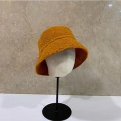 양면 패션 뽀글이 무스탕 양털 버킷햇 벙거지 모자