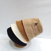 LA로고 무드 패션 코듀로이 골덴 버킷햇 벙거지 모자