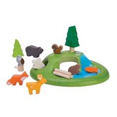 플랜토이즈 원목교구 가상놀이 미니 동물의 숲 6625_(1729380)