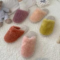 kami et muse Long fur corduroy slippers_KM20w200