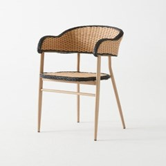 IM_C_0178 빈츠 스틸 인조라탄 의자