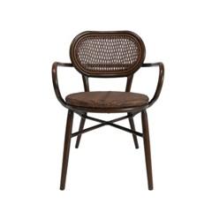 IM_C_0175 써클 체어 알루미늄 인조라탄 의자