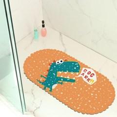물빠짐 효과 욕실에서 사용하기 좋은 흡착식 매트