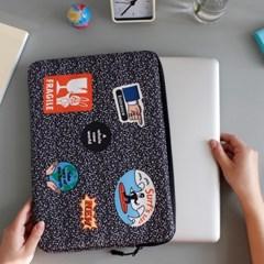 노트북 파우치 - 따봉 카모 (아이패드11,13,15인치)